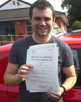 John Briton passed on 29/8/18 with Garry Arrowsmith! Well done!