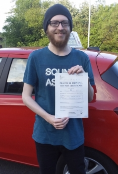 Robert Birks passed on 21/5/19 with Garry Arrowsmith! Well done!