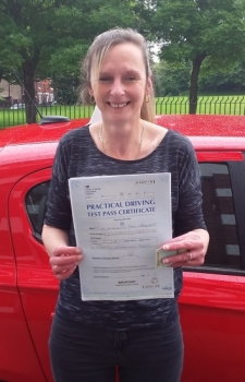 Jackie Bassett passed on 19/6/19 with Garry Arrowsmith! Well done!