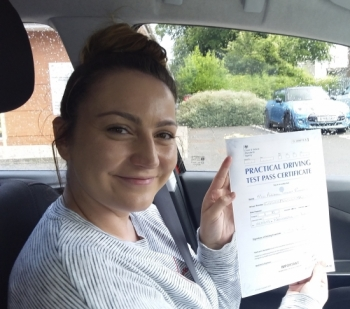 Annabel Rhodes passed on 1/8/19 with Garry Arrowsmith! Well done!