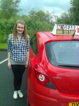 Alannah passed with Phil Hudson on 4614 Well done