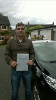 Borys passed with Mitchell Gosling on 3915 Well done