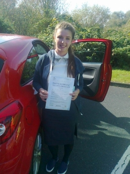 Harriet passed on 22914 with Phil Hudson Well done