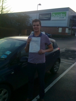 Harry passed with Phil Hudson on 6114 Well done