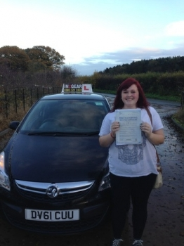 Hazel passed with Dean Farmer on 201113
