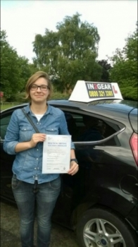 Maja passed on 3915 with Mitchell Gosling Well done