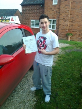 Nick passed with Phil Hudson Well done