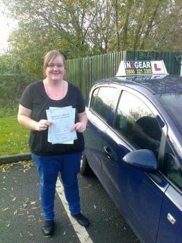 Tammy passed with Phil Hudson on 151113
