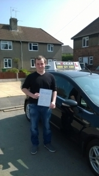 Scott passed on 21415 with Mitchell Gosling Well done<br />