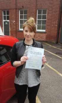 Siobhan passed on 4416 with Phil Hudson Well done