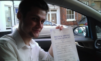 Tim passed with Paul Bishop on 171213 Well done