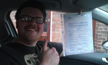 Nick passed on 61113 with Paul Bishop